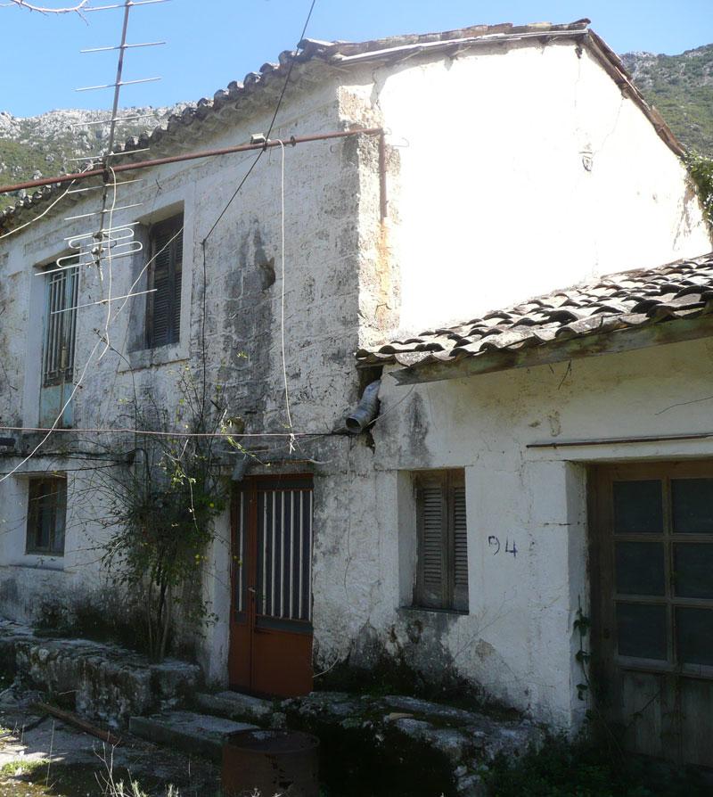 ΚΤ140 Stone House in Vournika