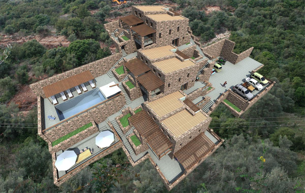 ΚΤ301 Villas in Ammouso