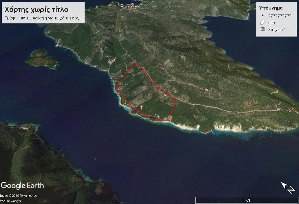 ΑΤ181 Land in Meganisi – Waterfront